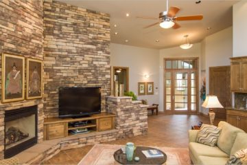 livingroom-design-beautiful-stone-fireplaces-look-more-with-auto