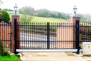 Ornamental Sliding Gate Operator